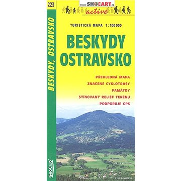 Beskydy Ostravsko 1:100 000: 223 (80-7224-265-2)