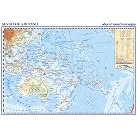 Austrálie a Oceánie: laminátový separát 1:42 000 000 (40-332-2107-7)