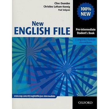 New English file Pre-intermediate Studenťs Book s anglicko-českým slovníčkem (01-945190-9-0)