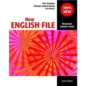 New English file elementary Studenťs Book s anglicko-českým slovníčkem (01-945190-8-2)