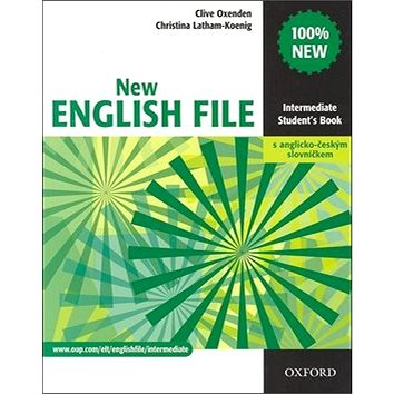 New English file Intermediate Student´s book + Czech wordlist (01-945191-0-4)
