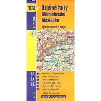 Krušné hory Chomutovsko: cyklomapa 103 (80-7011-934-9)