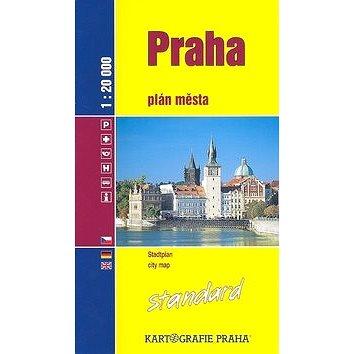 Praha Standard: plán města 1:20 000 (80-7011-937-3)