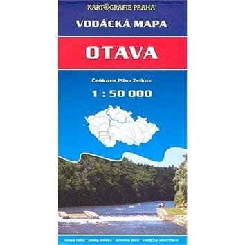 Otava, Čeňkova pila - Zvíkov 1: 50 000: vodácká mapa (80-7011-967-5)