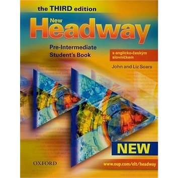 New Headway Pre-Intermediate Third edition Student´s Book with czech wordlist (978-0-19-471683-3)