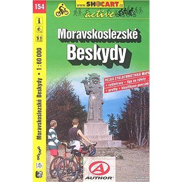 Moravskoslezské Beskydy 1:60 000: 154 (978-80-7224-558-1)
