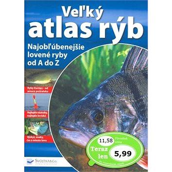 Veľký atlas rýb: Najobľúbenejšie lovené ryby od A do Z. (978-80-8107-064-8)