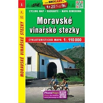 Moravské vinařské stezky 1:110 000 (978-80-7224-617-5)