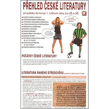 Přehled české literatury: Od počátku do konce 1.světové války pro ZŠ a SŠ (978-80-7182-259-2)