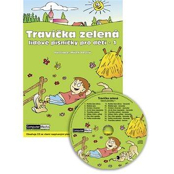 Travička zelená: Lidové písničky pro děti - 1 (978-80-7402-004-9)