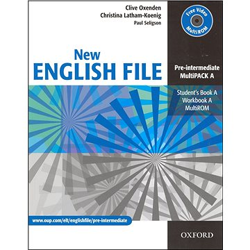 New English File Pre-intermediate Multipack A (978-0-945182-6-0)