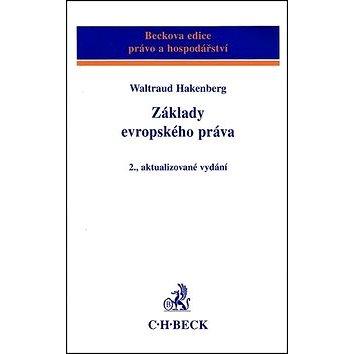 Základy evropského práva: 2. aktualizované vydání (80-7179-924-6)