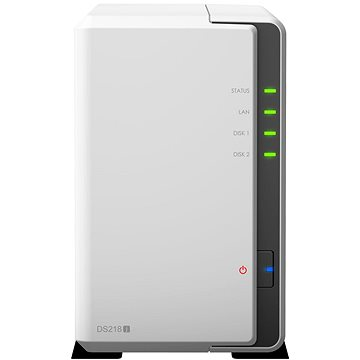 Synology DS218j 2x3TB RED (DS218j 6TR)