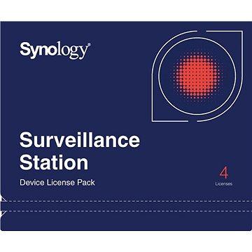 Synology NAS 4 licence pro další IP kamery do Surveillance Station (IPC4)