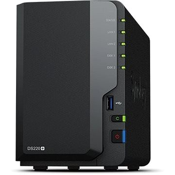 Synology DS220+ 2x2TB RED (DS220+4TR)