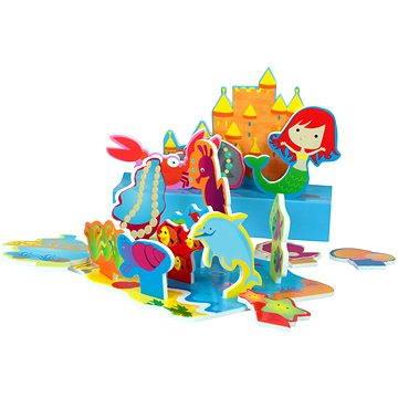 Sada pěnových hraček do vany - Mořská panna (874246000014)