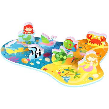 Puzzle do vany - Mořská panna (874246000434)