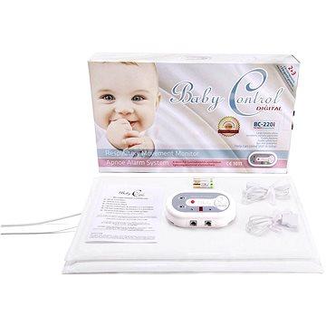 Baby Control Digital BC-220i pro dvojčata + DVD První pomoc dětem (5999883433225)