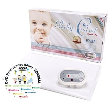 Baby Control Digital BC-200 + DVD První pomoc dětem (5999883433201)