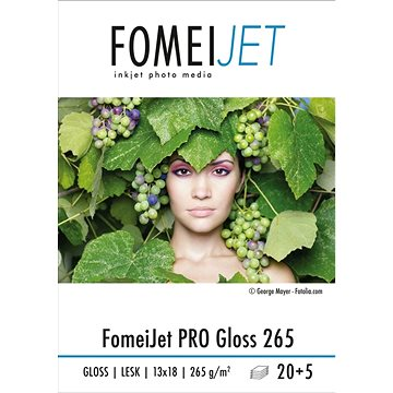 FOMEI Jet PRO Gloss 265 13x18 - balení 20ks + 5ks zdarma (EY5204)