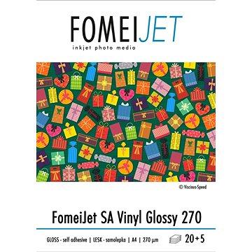 FOMEI Jet SA Vinyl Glossy A4 - balení 20ks + 5ks zdarma (EY5958)
