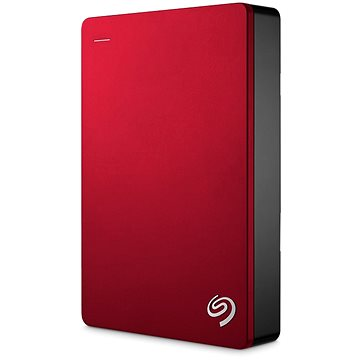 Seagate BackUp Plus Portable 4TB červený + 200GB OneDrive (STDR4000902)