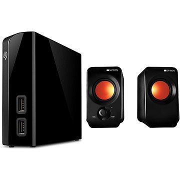 Seagate BackUp Plus Hub 8TB + 2x USB, černý + CANYON CNE-CSP202 (STEL8000200_CNE-CSP202)