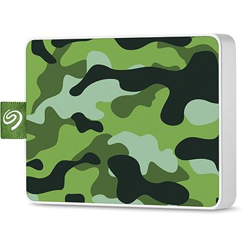 Seagate One Touch SSD 500GB, zelený (STJE500407)