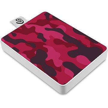 Seagate One Touch SSD 500GB, červený (STJE500405)