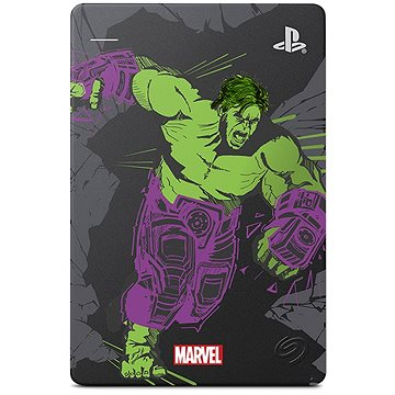 Seagate PS4 Game Drive 2TB Marvel Avengers Limited Edition - Hulk (STGD2000204)