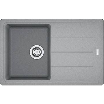 FRANKE BFG 611-78 780x500 šedý kámen (114.0285.186)