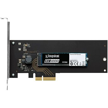 Kingston KC1000 960GB s adaptérem do PCIe (SKC1000H/960G)