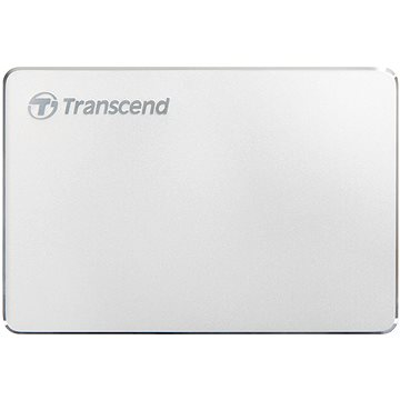 Transcend StoreJet 25C3S 1TB stříbrný (TS1TSJ25C3S)
