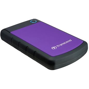 Transcend StoreJet 25H3B SLIM 4TB černo/fialový (TS4TSJ25H3P)