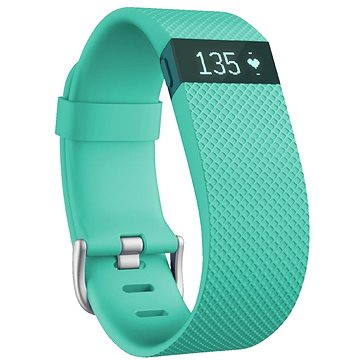 Fitness náramek Fitbit Charge HR Large Teal (FB405TEL-EU)