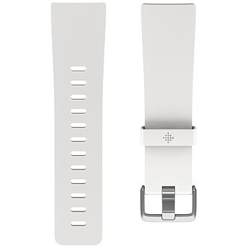 Fitbit Versa Classic Accessory Band, White, Large (FB166ABWTL)