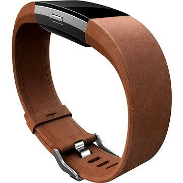 Fitbit Charge 2 Band Leather Brown Small (FB160LBBRS)