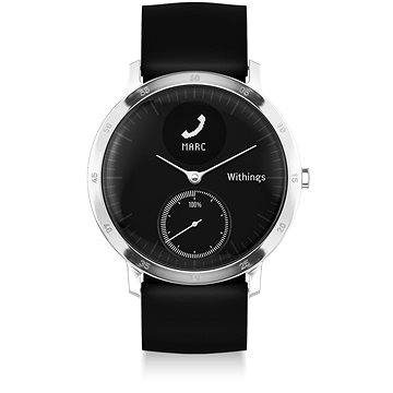 Chytré hodinky Withings Steel HR Black (36mm)