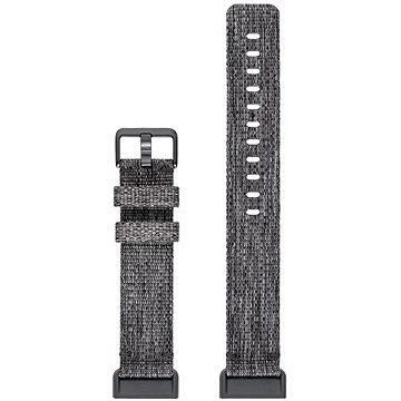 Fitbit Charge 3 Accessory Band Woven Charcoal Large (FB168WBGYL)
