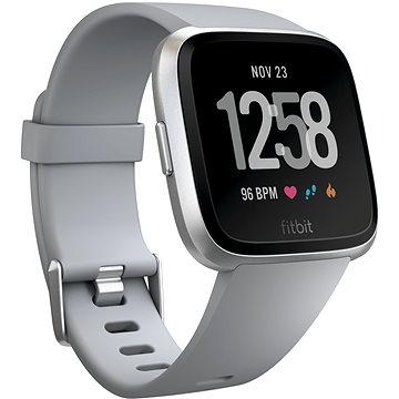Chytré hodinky Fitbit Versa - Gray / Silver Aluminum (FB505SRGY-EU)