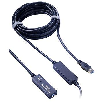 PremiumCord USB 3.0 repeater 10m prodlužovací (8592220012748)