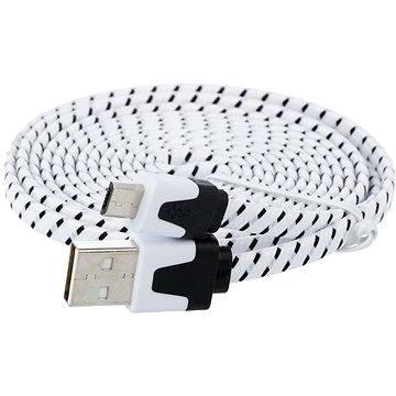 PremiumCord USB 2.0 propojovací A-B micro 1.8m černý (ku2m2ft)