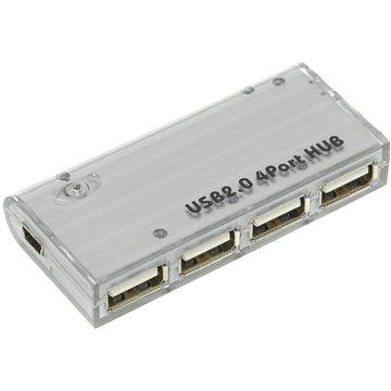 PremiumCord 4-portový V2.0 mini (8592220001797)