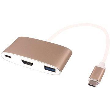 PremiumCord USB 3.1 Type-C (USB-C) Converter -> HDMI + USB3.0 + PD (ku31hdmi02)