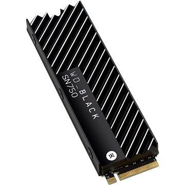 WD Black SN750 NVMe SSD 500GB Heatsink (WDS500G3XHC)