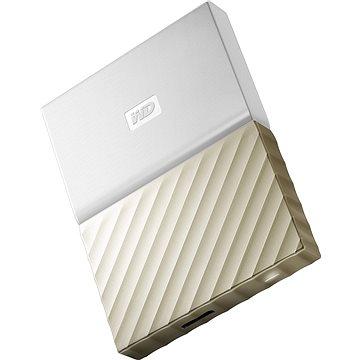 WD 2.5 My Passport Ultra Metal 1TB bílo/zlatý (WDBTLG0010BGD-WESN)
