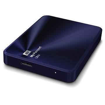 WD 2.5 My Passport Ultra Metal 2TB modro/černý (WDBEZW0020BBA-EESN)