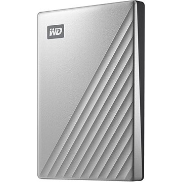 """WD 2.5"""" My Passport Ultra 1TB stříbrný (WDBC3C0010BSL-WESN)"""