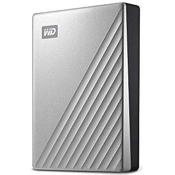 """WD 2.5"""" My Passport Ultra 4TB stříbrný (WDBFTM0040BSL-WESN)"""