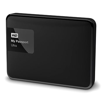 WD 2.5 My Passport Ultra 500GB Classic Black, černý (WDBWWM5000ABK-EESN)